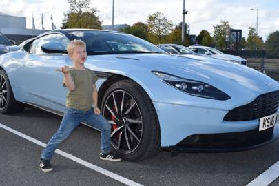 The Unmumsy Mum Tests The Aston Martin Db11 British Gq