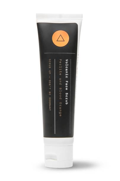 The face scrub: Volcanic Face Scrub by The Lost Explorer