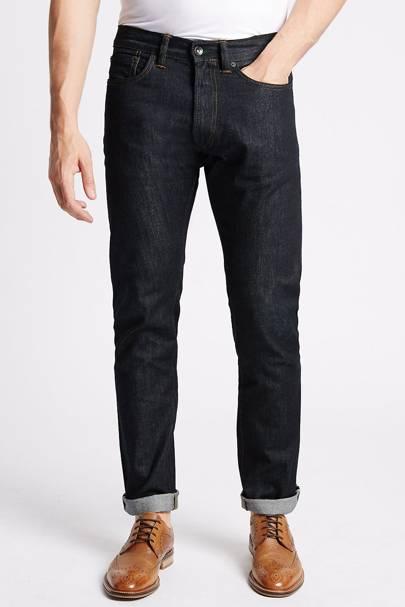 Marks & Spencer slim fit selvedge jeans