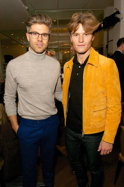 Darren Kennedy and Oliver Cheshire
