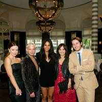 The GQ Fashion team (Grace Gilfeather, Luke Day, Giorgina Waltier, Holly Roberts and Nick Carvell)