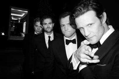 Freddie Fox, Mark Stanley, Taron Egerton, Matt Smith