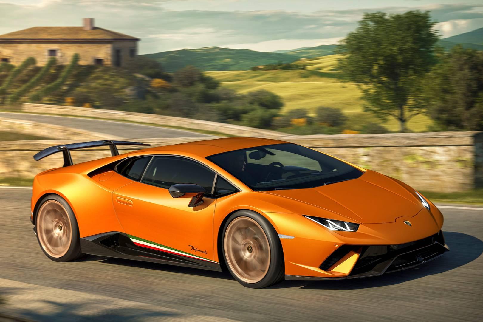 The Lamborghini Huracan Performante Review British Gq