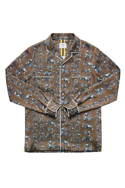 Pyjama suit shirt by Erdem x H&M
