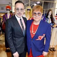 2. Sir Elton John and David Furnish
