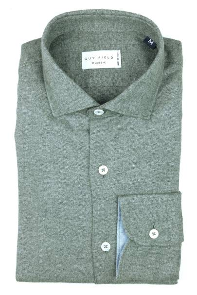 Guy Field brushed cotton dress shirt