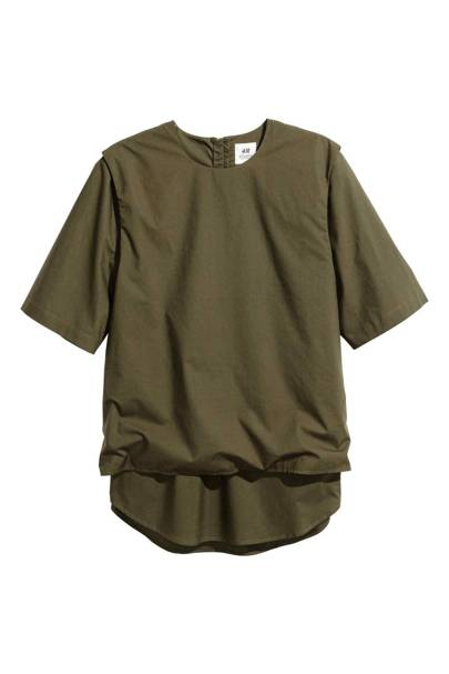 Double-layered T-shirt