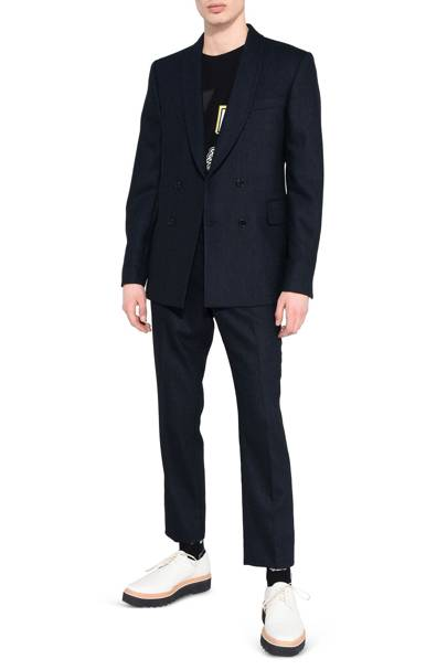 Stella McCartney blue double-breasted suit