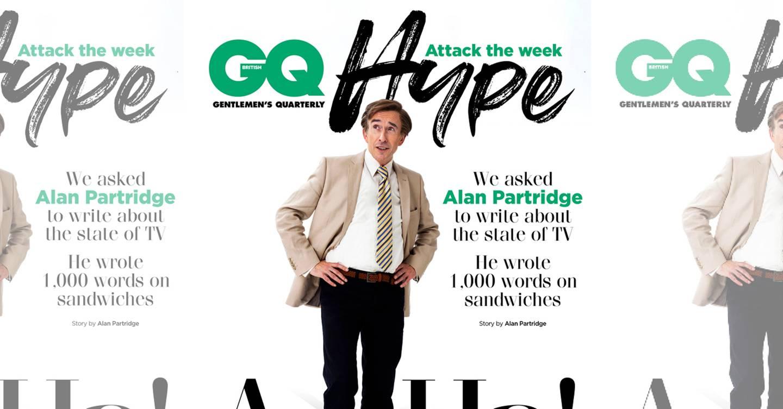 448a0784 Alan Partridge sandwich review: simply the Pret | British GQ