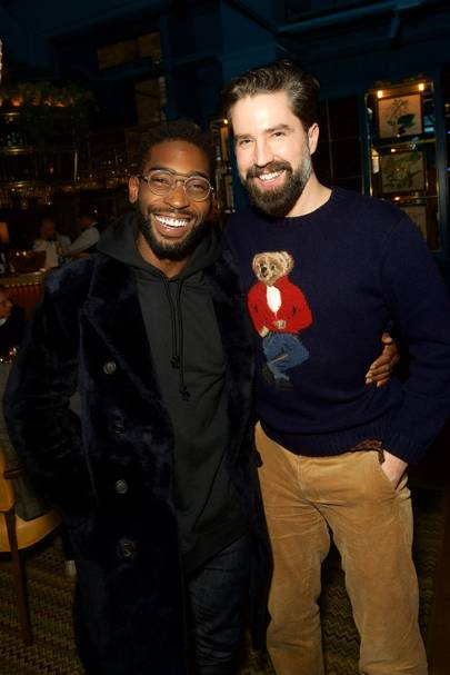 Tinie Tempah and Jack Guinness