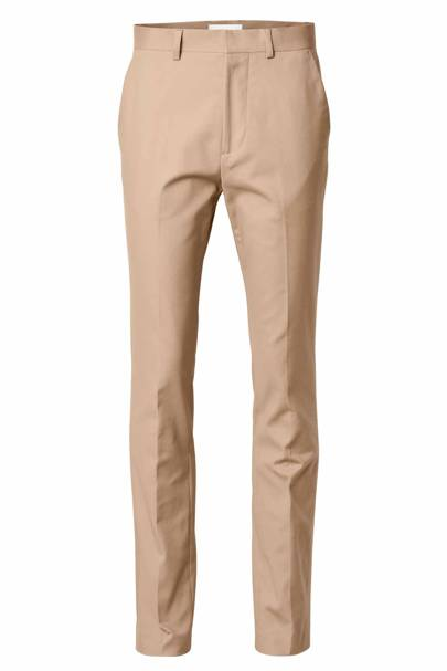 David Beckham H&M Modern Essentials suit trousers