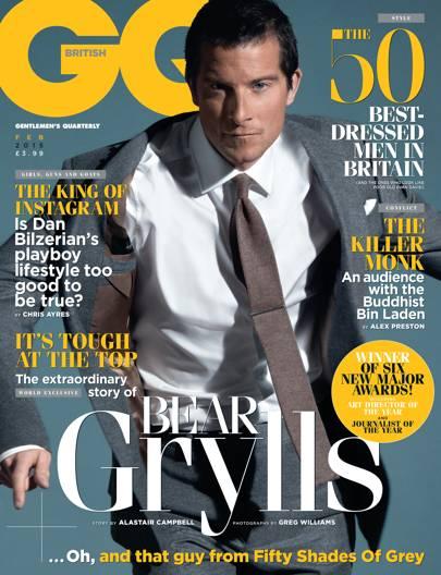 Bear Grylls - February 2015