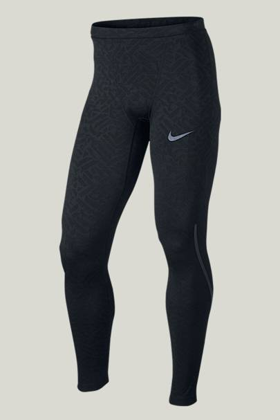Nike Power (City) tights and Dri-Fit Flex Shorts