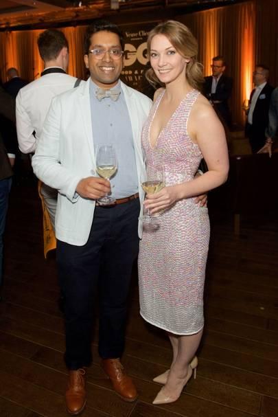 Ryan Chetiyawardana and Anette Moldvaer