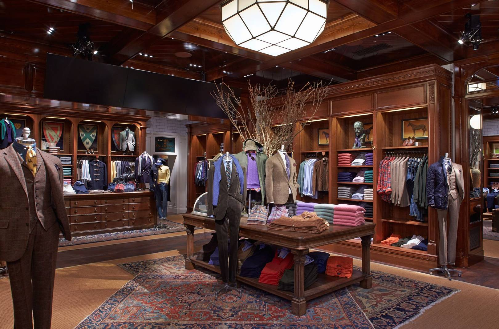 Ralph Lauren Store Interior Design - Prism Contractors ...