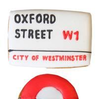 Biscuiteers' Oxford Street Bond Street biscuit card