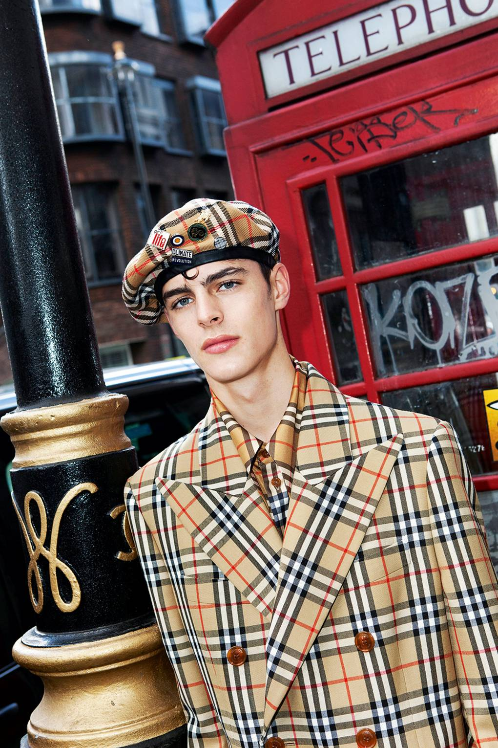 54126eb6a1 British fashion house Burberry and Vivienne Westwood collaborate for a  exclusive capsule collection.