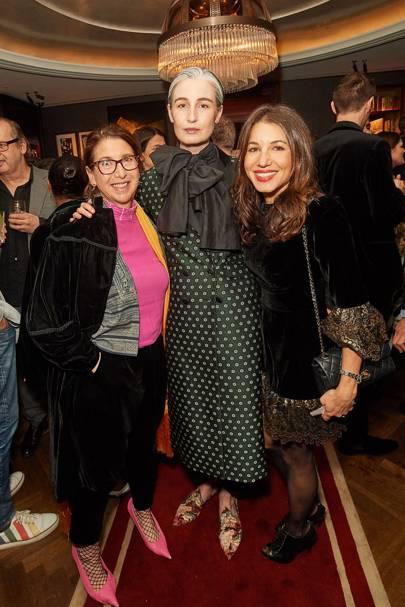 Debra Bourne, Erin O'Connor and Lauren Kemp