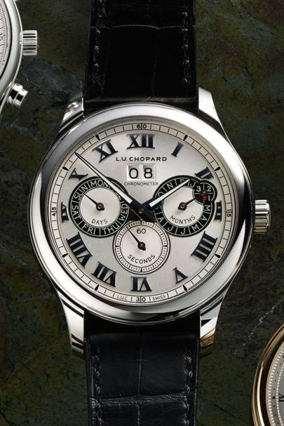 LUC Perpetual Twin in steel by Chopard