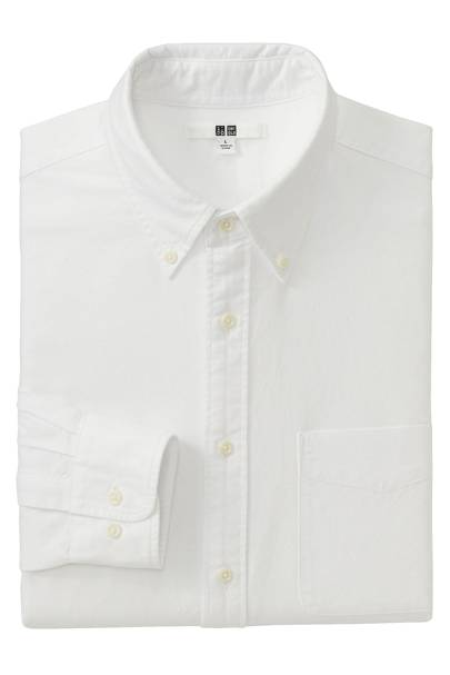 Uniqlo buton-down Oxford shirts