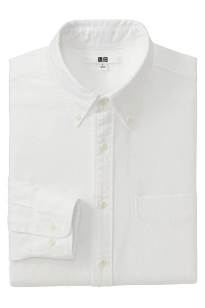 Uniqlo buton-down Oxford shirts