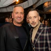Fat Tony and David Furnish