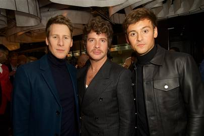 Dustin Lance Black, Luke Day and Tom Daley