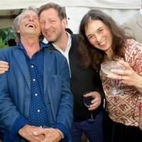 Bruce Robinson, Ed Vaizey and Corisande Albert