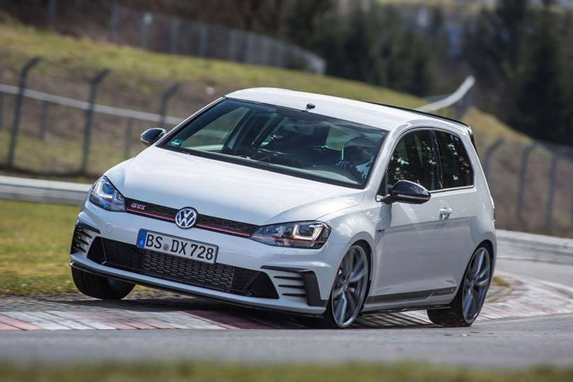 Golf Gti Nurburgring Record Video Watch The New Golf Gti Smashing A