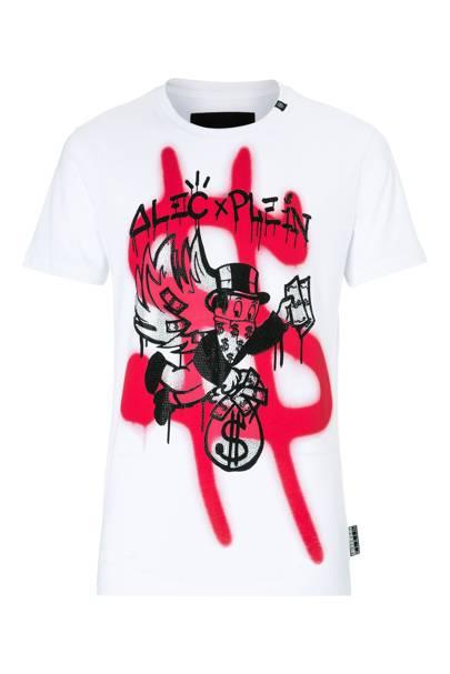 T-shirt by Philipp Plein x Alex Monopoly
