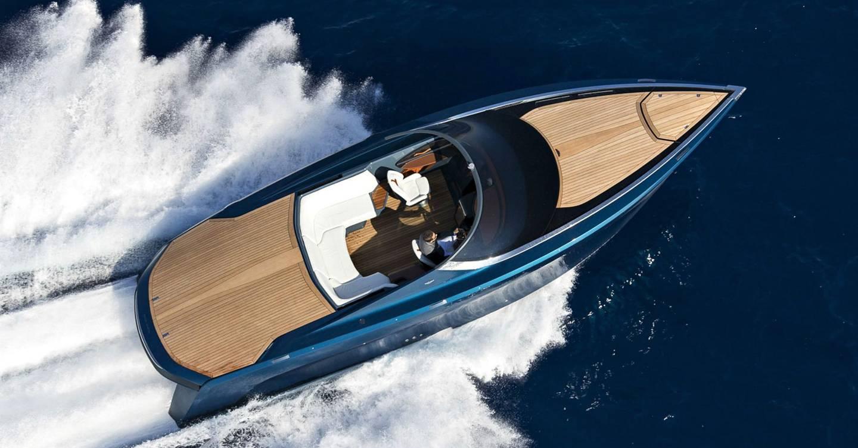 Aston Martin Am37 Speedboat Watch Our Ride Here British Gq