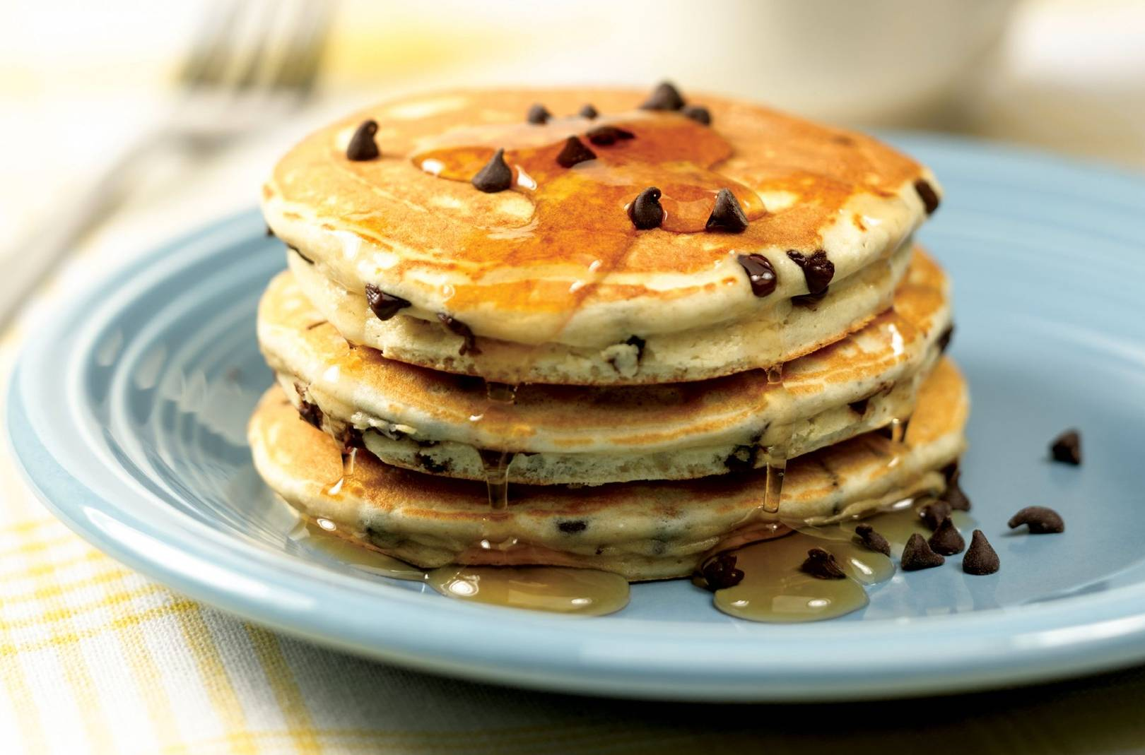 Chocolate Chip Workout Pancakes pictures