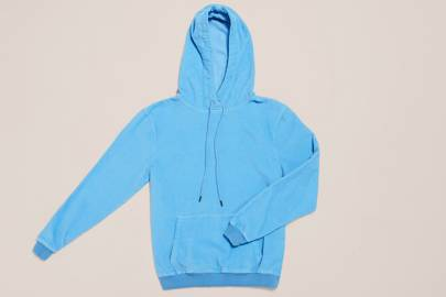 The Cords & Co 'Love Alaska Blue' hoodie