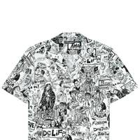 1.) Dolce & Gabbana monochrome printed shirt