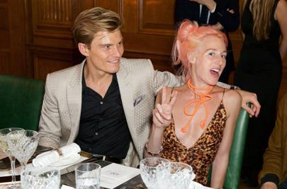 Oliver Cheshire and Katie Eary
