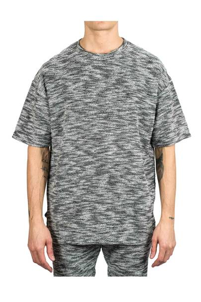 Serge Denimes 'No Noise' grey T-shirt