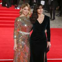 Lea Seydoux and Monica Bellucci
