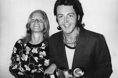 1971: Paul and Linda McCartney