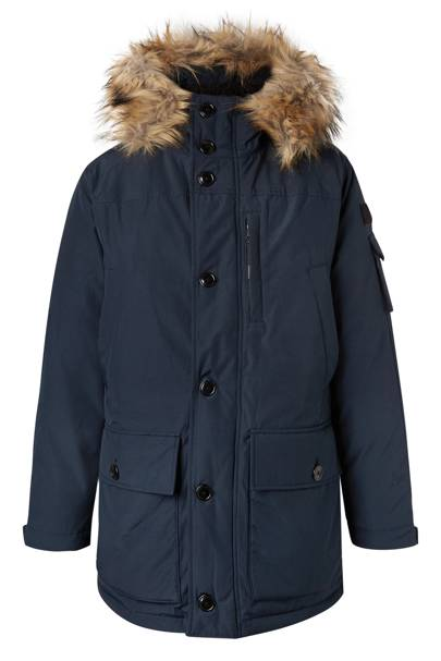 Faux fur-trimmed hooded parka by J Crew