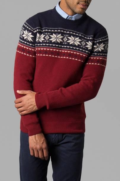 Hackett's Christmas jumper