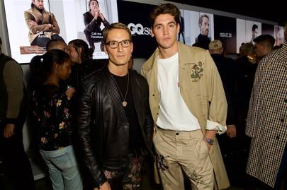Oliver Proudlock and Isaac Carew