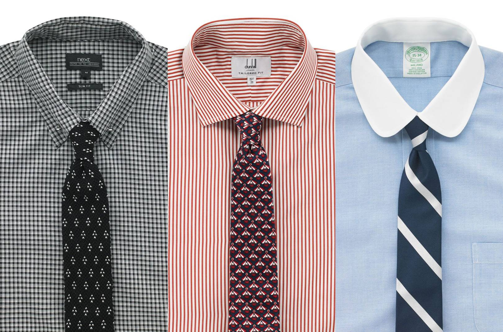 The right tie knot for every shirt collar | British GQ