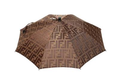Umbrella hat by Fendi