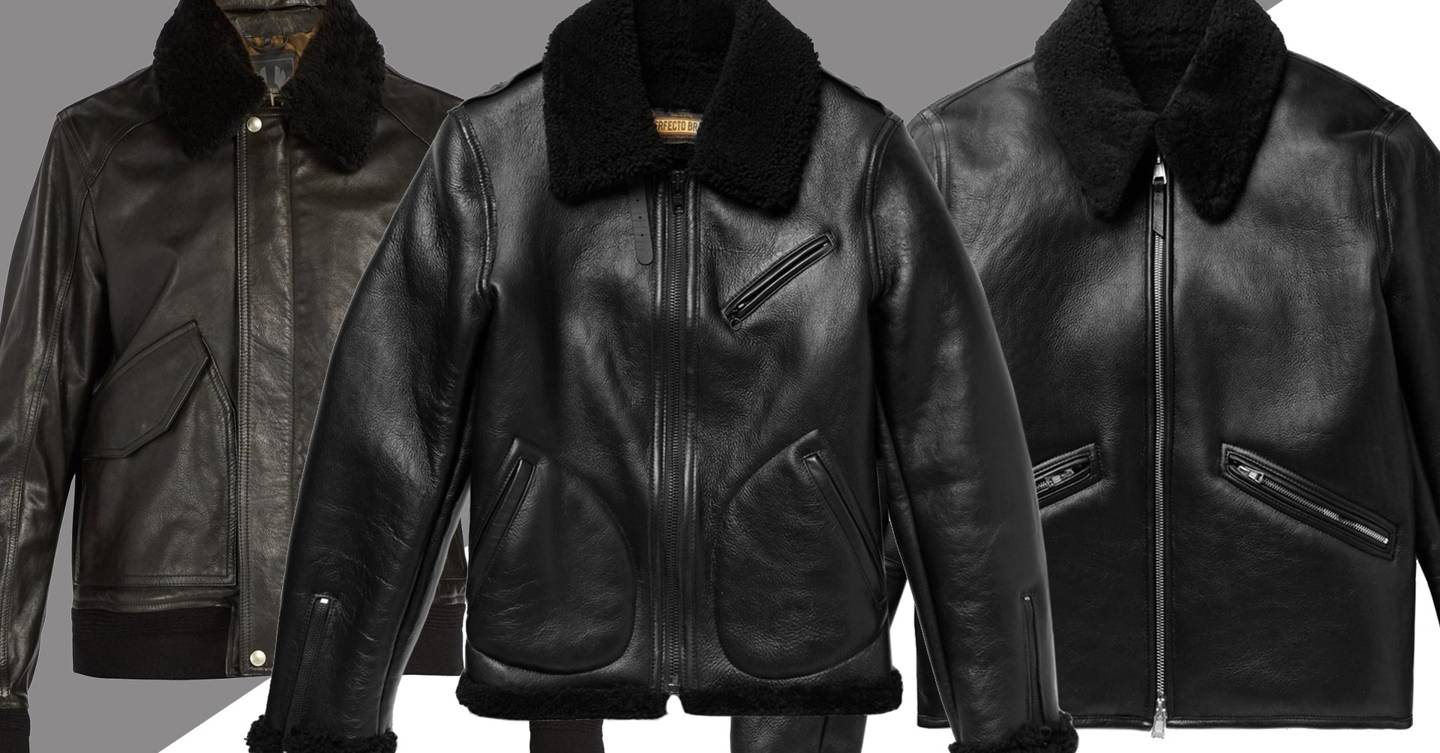 men s leather jackets how to look good in leather