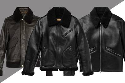 Men s leather jackets  how to look good in leather  11fe2ea8145