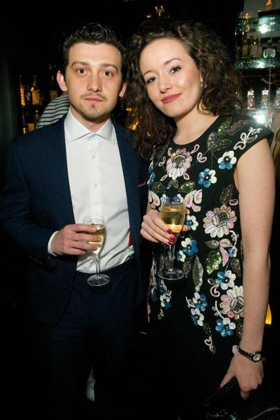 Craig Roberts and Elysia Welch