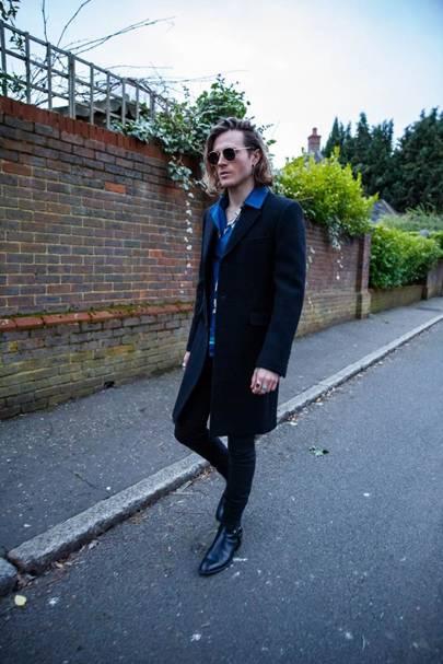 Dougie Poynter at London Fashion Week (Day 2)