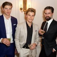 Toby Huntington-Whiteley, Oliver Cheshire and Jack Guinness