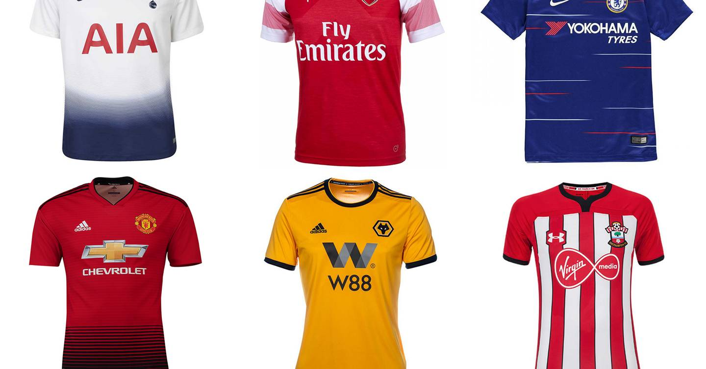 Premier League kits 2018 19 ranked  from worst to best  f55b471c8