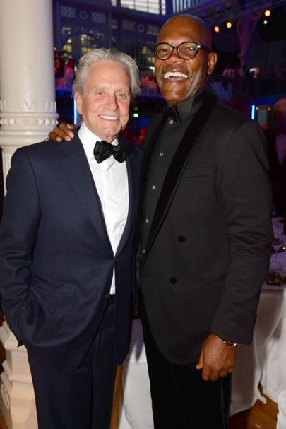 Michael Douglas and Samuel L Jackson